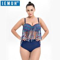 IEMUH Brand Summer Sexy Women Bikini Set Swimwear Push Up Padded Bra Swimsuit Bandage Bathing Suit