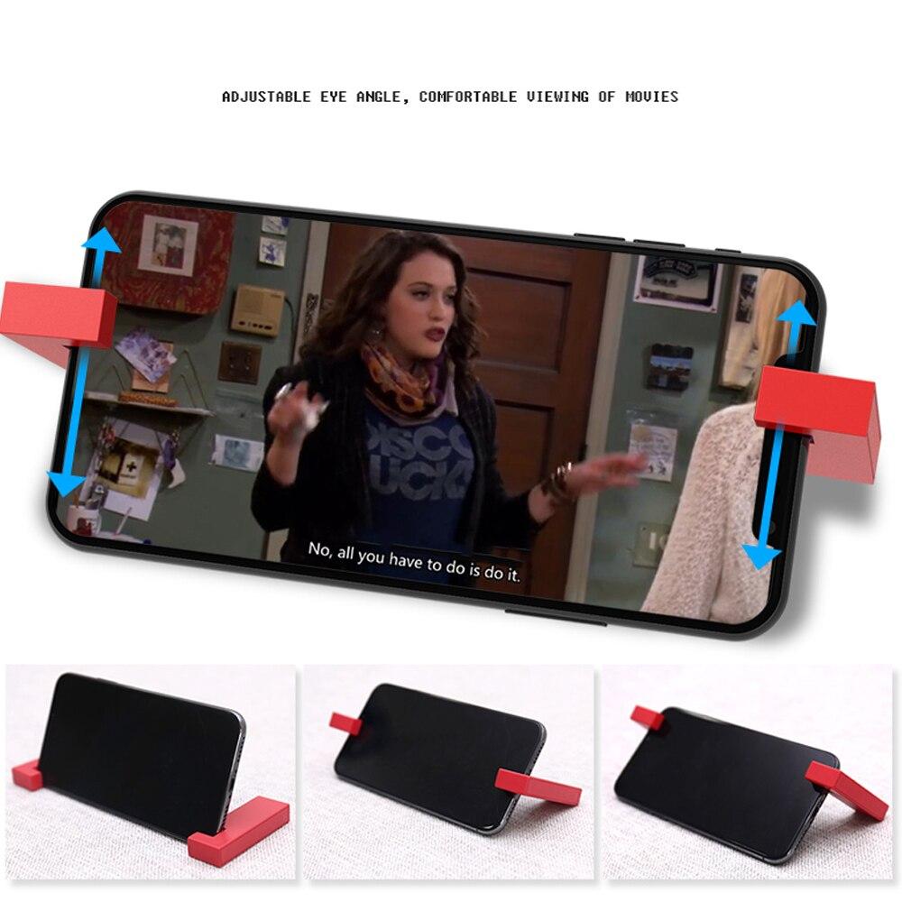 Phone Stand Holder Metal Magnetic Folding Smartphone Holder Suitable for