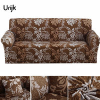 Urijk 1PC Sofa Tight Wrap All Inclusive Slip Resistant Sofa Cover Elastic Sofa Towel Single Two
