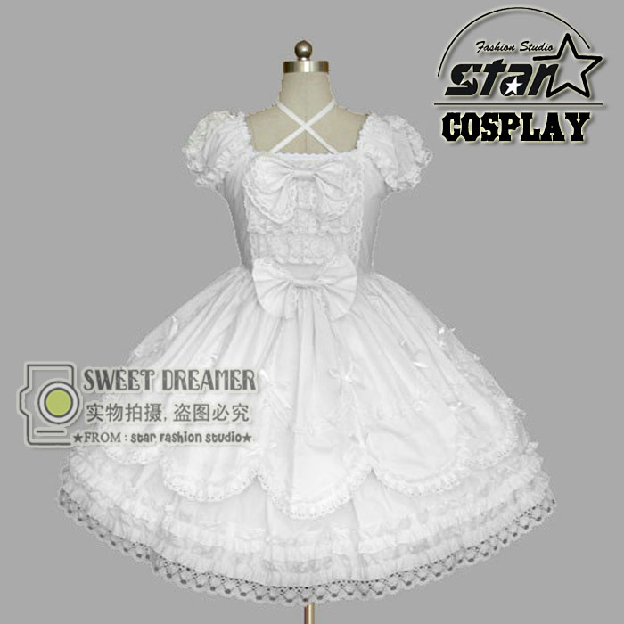 Customizd Kids Princess Ball Gown White Lace Flower Girls Dresses For Weddings Tulle Belt Bow Knot Lolita Party Dresses princess ball gown red lace flower girls dresses for weddings birthday communion kids stage performance