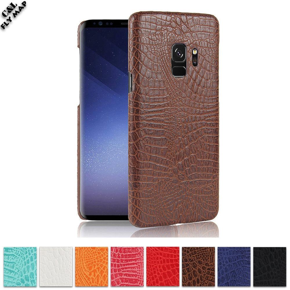 Crocodile Case For Samsung Galaxy S9 S 9 Hard PC Shell Protective Phone Cover SM-960 SM-960F SM-9600 SM-960N SM-960W SM-960D Bag