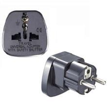 Germany France Indonesia South Korea 10A 16A 250V US UK swiss italy japan india Israel to EU Travel adaptor plug charger Type E