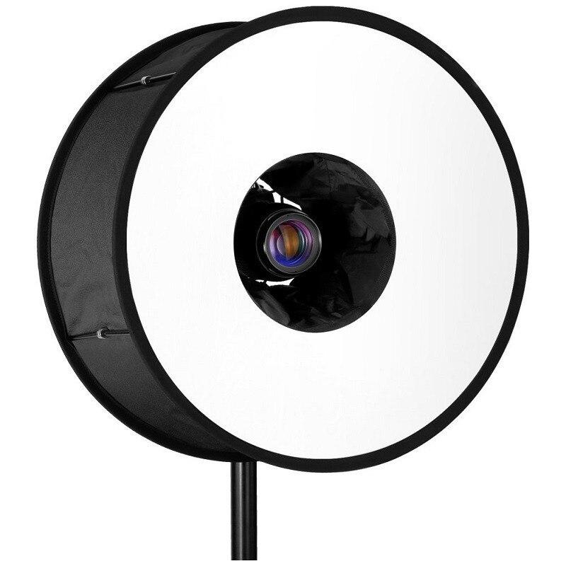Ring Softbox For SpeedLite Flash light 45cm Foldable Difusor Macro Shoot Soft box for Canon Nikon