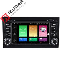Wholesales Two Din Android 8 0 7 Inch Car DVD Player For A4 S4 Audi 2002