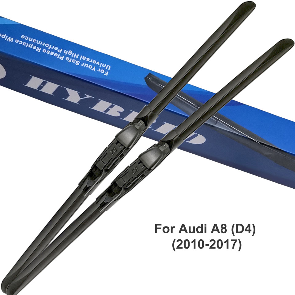 DNGYGN Auto Windshield Wipers Car Wiper Blades For Audi A8 D2 D3 D4