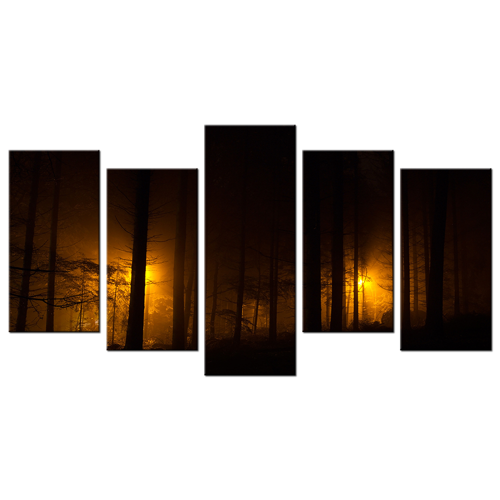 Forest Wall Art forest wall art canvas promotion-shop for promotional forest wall