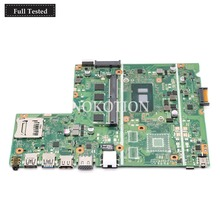 NOKOTION X541UV MAIN board For ASUS Chromebook X541UVK X541UA laptop motherboard with I7-7500U CPU onboard DDR4 Full tested