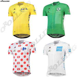 OROLLING Winners Multi Types CLASSICAL 2018 Le Tour de France Team Pro Cycling  Jersey 39c3d7d34
