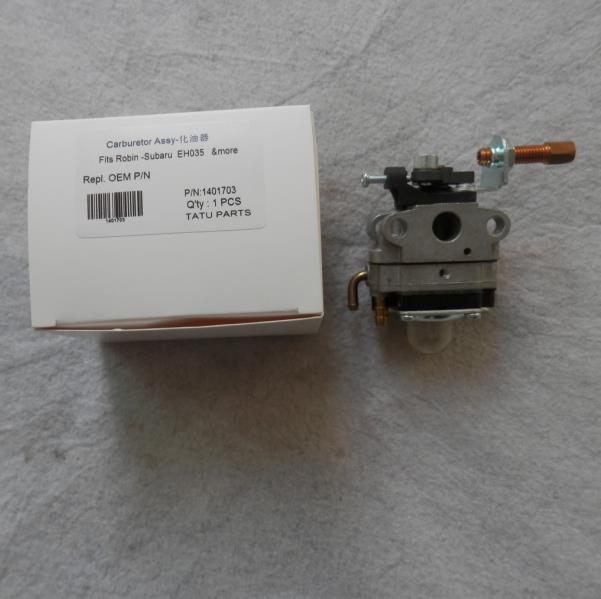 EH35 TYPE de MEMBRANE de carburateur pour ROBIN SUBARU EH035 33.5CC 1.2KW 4 CYCLE essence débroussailleuse CARB tondeuse pièces de rechange