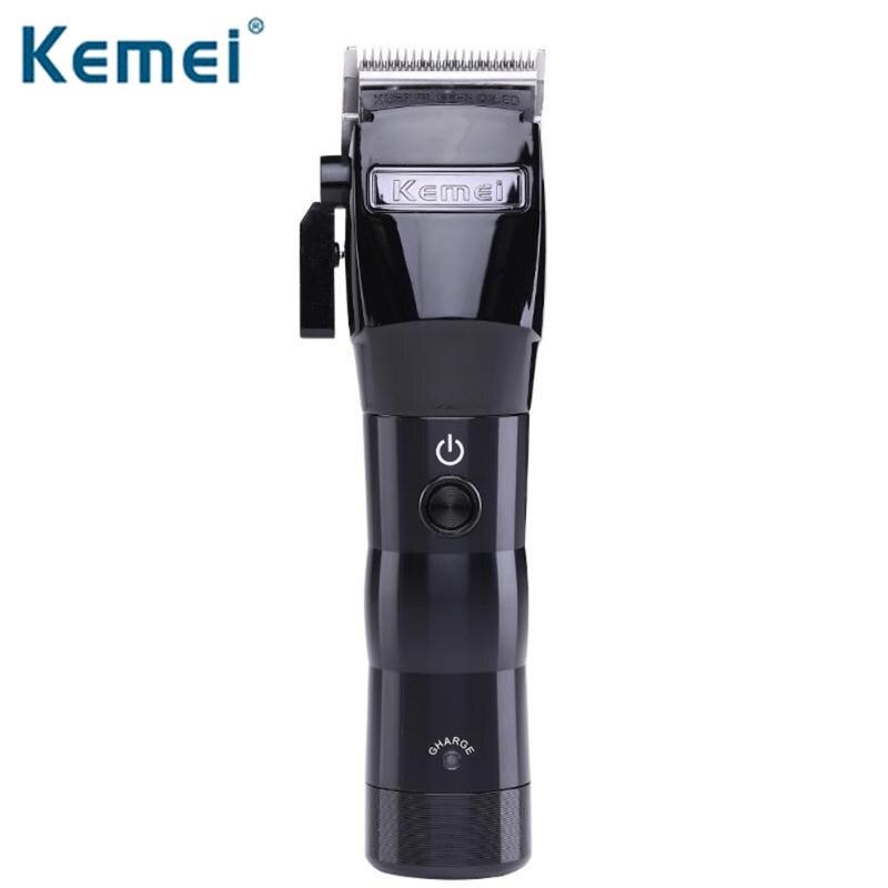 Kemei KM-2850 professionnel tondeuse à cheveux électrique puissant sans fil tondeuse à cheveux Machine de découpe coupe de cheveux outils de coiffure