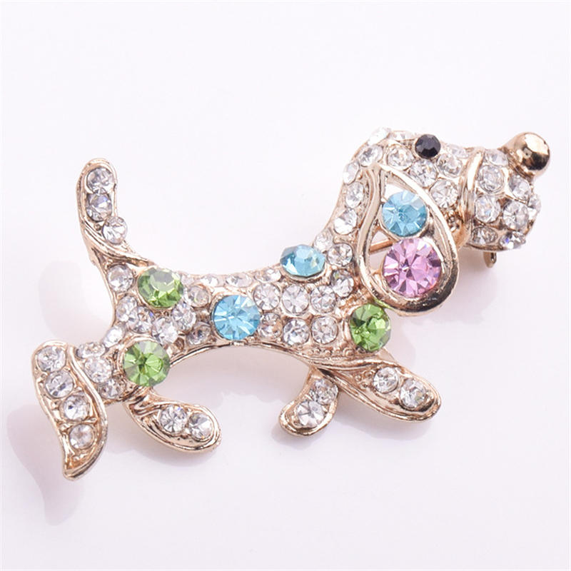 Badges Home & Garden Ranton 2018 Fashion 1 Pc Diamond Monkey Alloy Badges Funny Style High Quality Crystal Pin Brooch For Suit Clothes And Bags