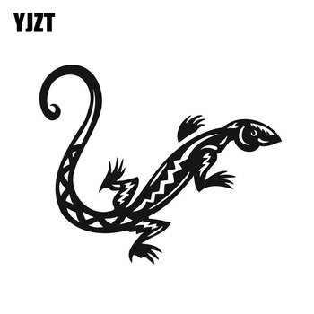 YJZT 13*10.6CM Fashion Salamanders Decor Car Stickers Vinyl High Quality Decals Silhouette C12-1090 image