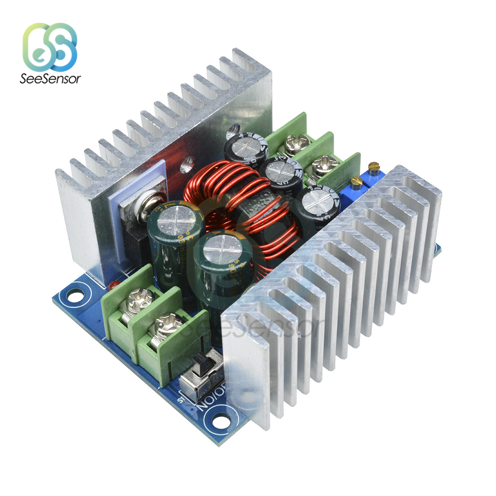 300W 20A DC-DC Buck Converter Step Down Module Constant Current LED Driver Power Step Down Voltage Board Electrolytic Capacitor300W 20A DC-DC Buck Converter Step Down Module Constant Current LED Driver Power Step Down Voltage Board Electrolytic Capacitor