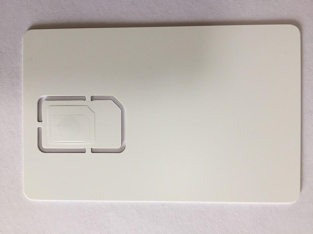 blank gsm sim card