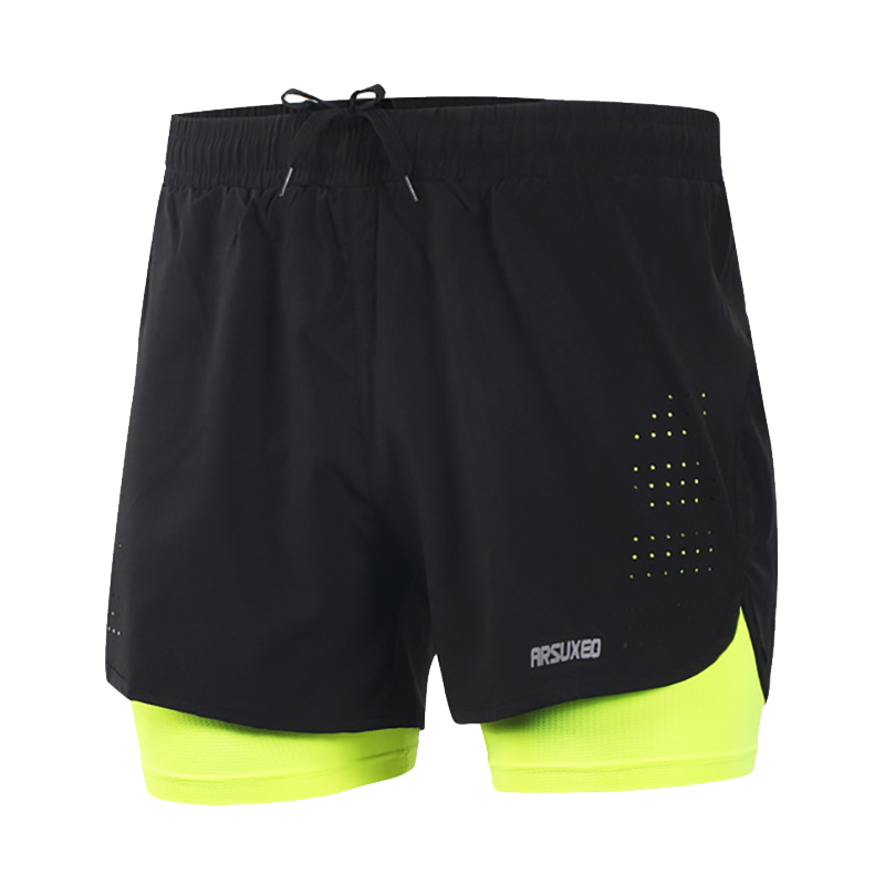 43c023635e0 Detail Feedback Questions about Breathable Running Shorts Marathon Shorts  Quick dry Fitness Yoga Training Gym Underwear Running Bottom 2 Colors on ...