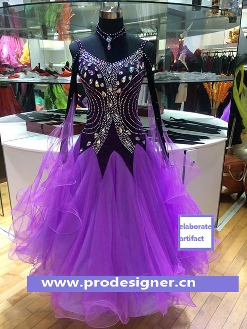 Modern Waltz Tango Ballroom Dance Dress, Smooth Ballroom Dress,Standard Ballroom Dress Girls ,Girls/Women Modern Dance Wear,
