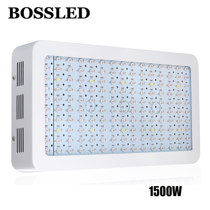 BOSSLED 1500W Led grow lights full spectrum for indoor plants growth all stage greenhouse Plant lighting hydroponics system