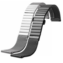 Stainless Steel  18/20/22 MM For IW Time Walker Watchband Mesh Bracelet Strap Replacement Wrist Milan Watch Band
