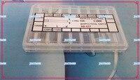 무료 배송 120 pcs knurled 압력 링크 핀 구색 0.9mm 두꺼운 리필 크기 시계 수리