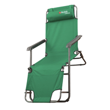 Кресло-шезлонг PALISAD 69587 (Металлический каркас, имеет съемный подголовник, выдерживает нагрузку до 100 кг, полиэстер)