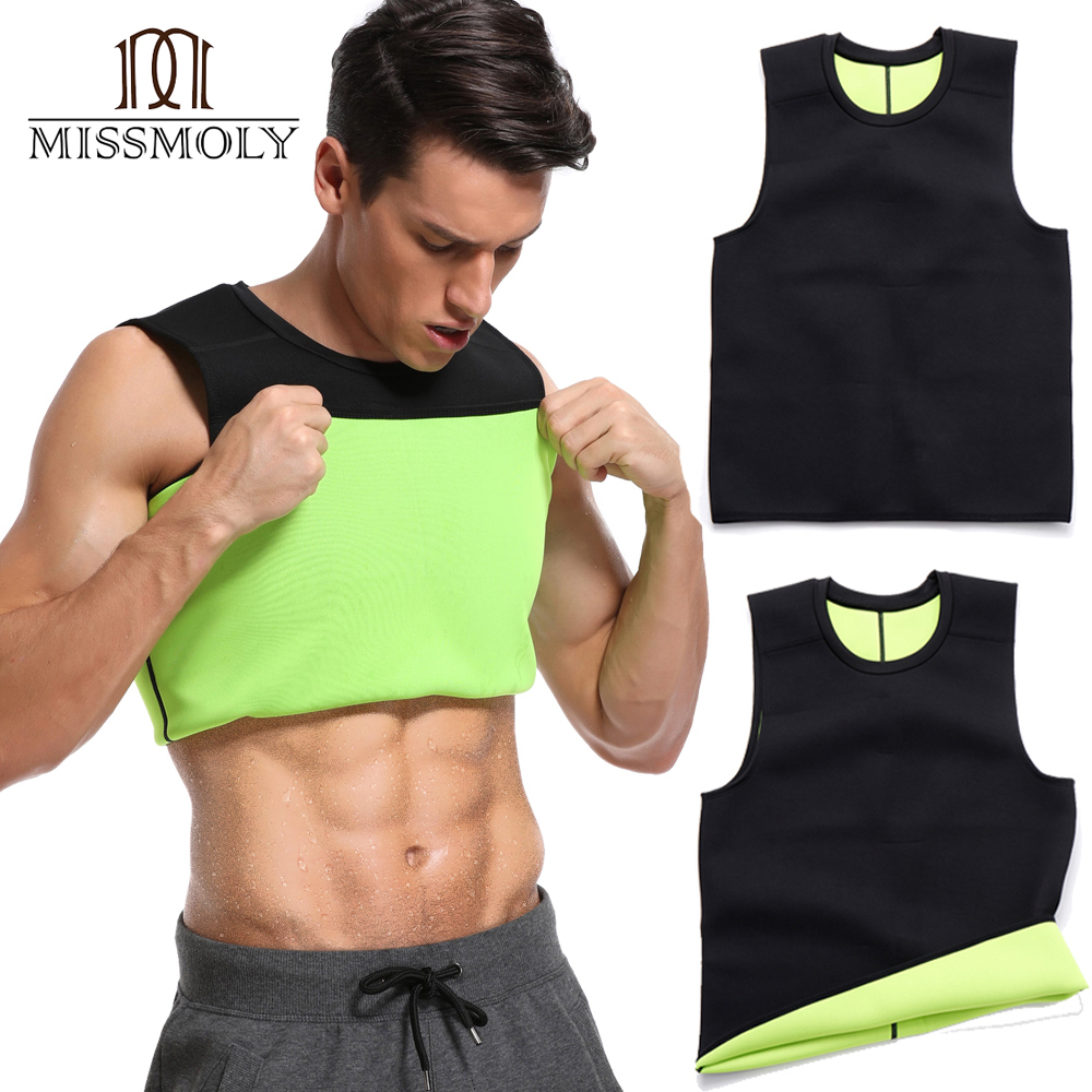 Waist Trainer Slimming Belt Mans Vest Body Shaper  Shaper Neoprene Abdomen Thermo Fat Burning Shapewear Faja Tummy Shaper