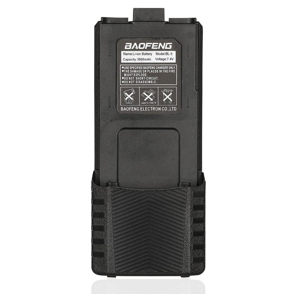 Baofeng Pofung BL-5L 3800mAh 7,4 V Расширенный Литий-ионный аккумулятор для UV-5R радио черный