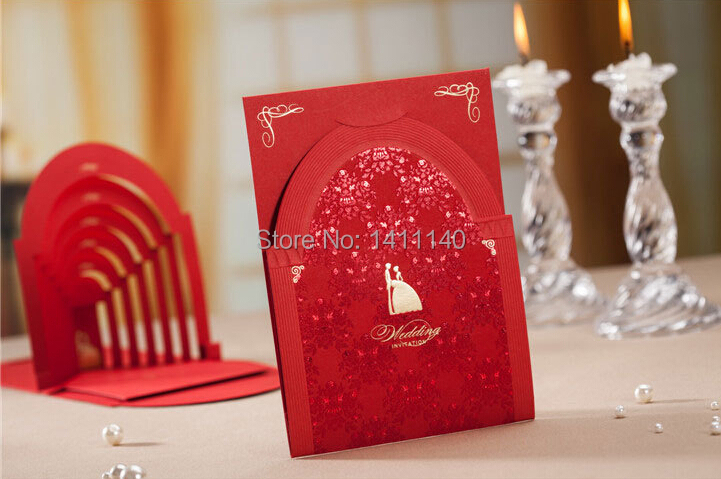 2016 Latest Luxury Elegant Wallet Wedding Invitation Card