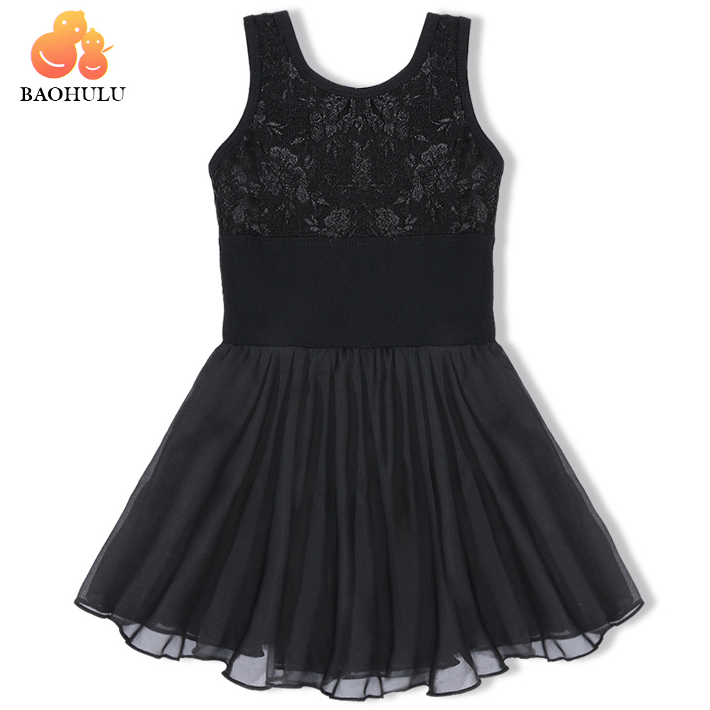 BAOHULU Ballet Dress for Children Girl Dance Clothing Kids Ballet Dresses for Girls Dance Girl Dancewear Kids Gymnastics