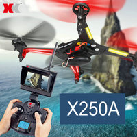 WL New 2.4G RC Quadcopter XK X250 with WIFI or FPV Mini Drone with HD 720P Camera (no color box)