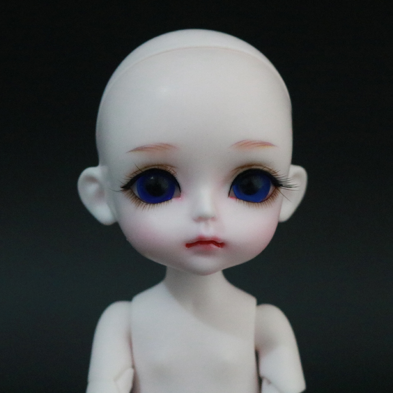 New Arrival 1/8 BJD Doll BJD/SD Fashion Cute LOVELY Happy Doll With Glass Eyes For Baby Girl Birthday Gift 1 8 bjd doll bjd sd fashion cute miu with eyes for baby girl gift full set doll clothes shoes wig like picture