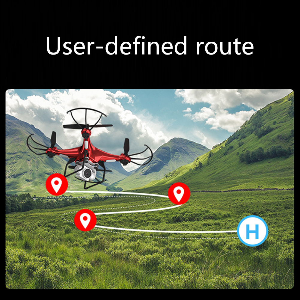 Best New Drone With Camera 1080P HD 5MP Hover Helicopter X52 Dron RC Drone Full hd Camera Drone Professional long flight time 8