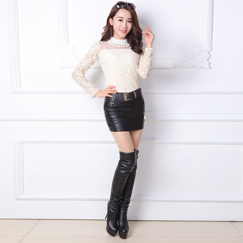 Aliexpress.com : Buy STKKOO Sexy Women Bodycon Skirt PU Leather ...