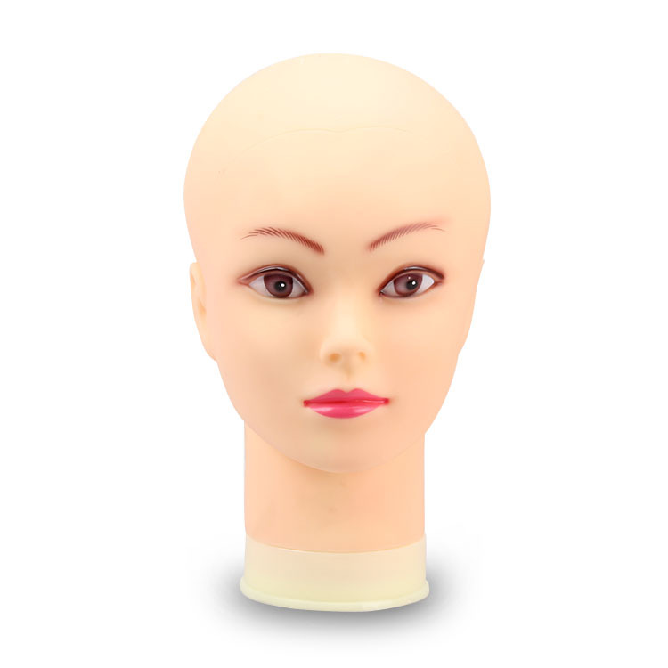 CAMMITEVER Female Mannequin Head Wigs Hair For