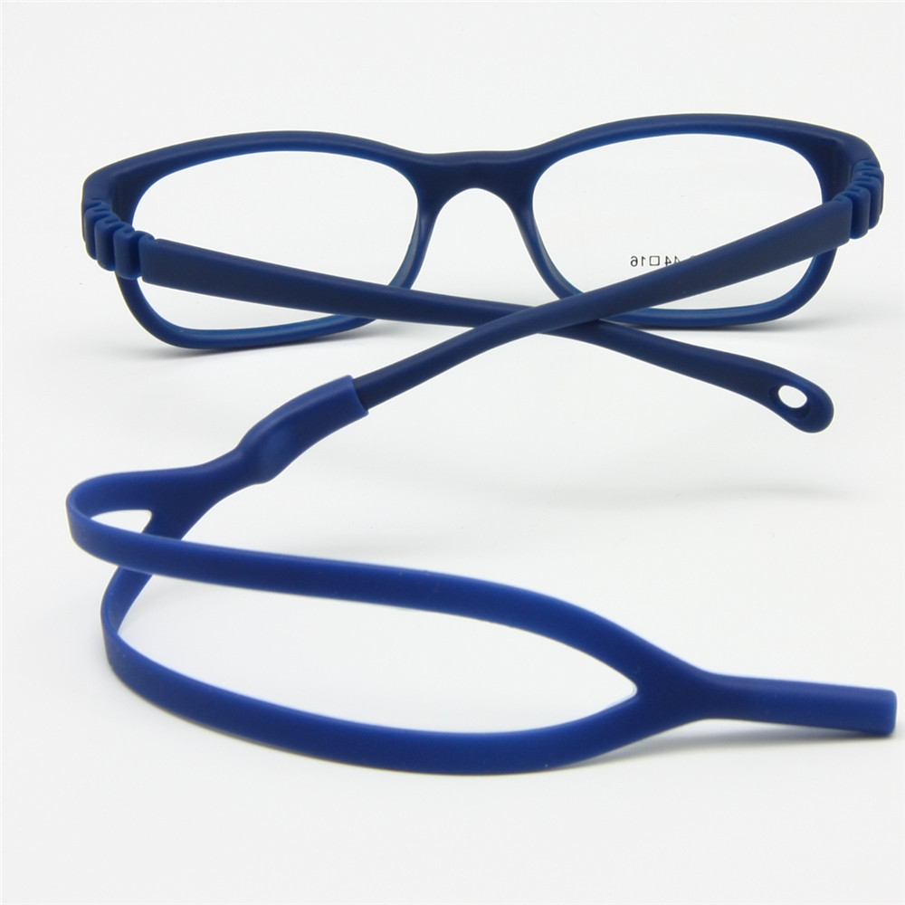 Herren-brillen Bekleidung Zubehör Kinder Brillengestell Größe 43 Ohr Griffe Kopf Band Nose Pad Flexible Silikon Biegsamen Optische Kinder Brillen