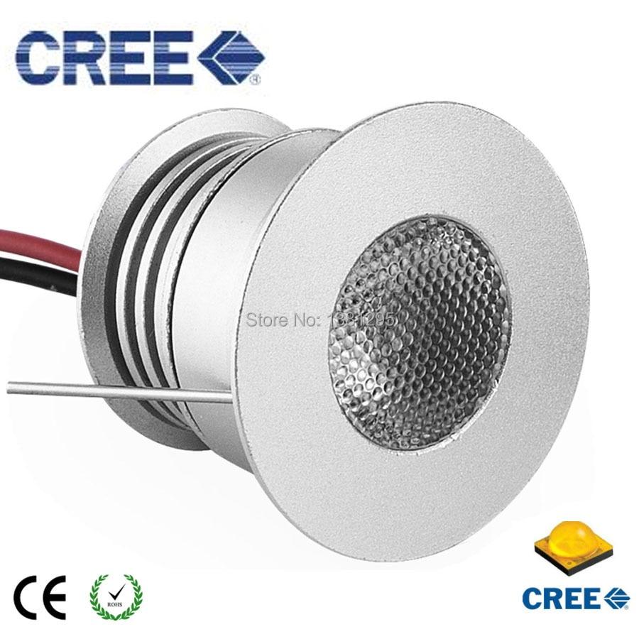 Us 188 0 20 Off Round Mini Kitchen Led Under Cabinet Light Lamp 3w 3v 12v 24v Cree Recessed Ceiling Spot Kit Display Showcase Lighting In