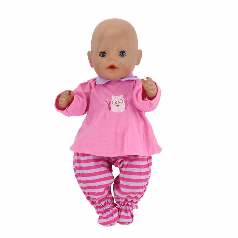 Hat+Coat+Pants Suits Doll Clothes Wear Fit 43cm baby new born doll Children Best Birthday Little Gift