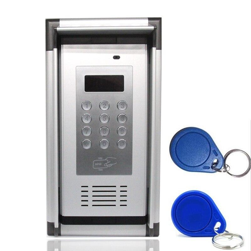 Porte de Garage Télécommande Étanche GSM 3g Contrôle D'accès Système Appartement Interphone Porte Porte Ouvre Soutient Cadran/RFID ouvert
