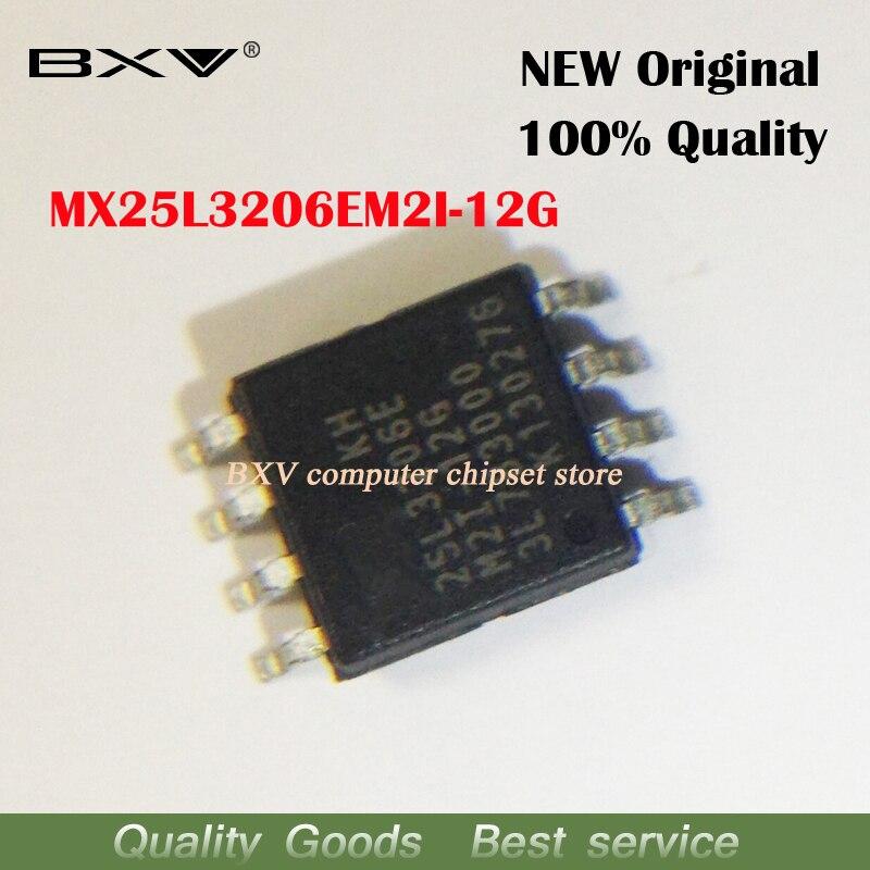 5PCS MX25L32 MX25L3206EM2I-12G SOP-8 MX25L3206EM2I MX25L3206E MX25L3206 25L3206E 25L3206