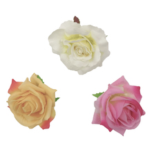 12pcs/lot 3.5 3Colors Simulated Ranunculus Rosettes DIY Handmade Accessories For Home Decoration Kidocheese