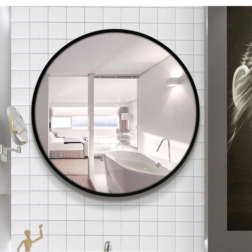 A1 Bathroom Mirror Toilet Wall Mirror Chinese Style Circular Wall Mounted Bedroom Living Room Toilet Make Up Mirror Wx8221848 Bath Mirrors Aliexpress