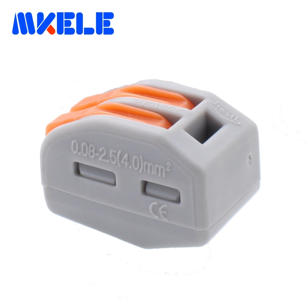 10pcs WAGO 222 412(PCT212) Universal Compact Wire Wiring Connector 2 ...