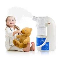 With Box Handheld Portable Mini Asthma Inhaler Nebulizer Household Health Care Children Ultrasonic Nebulizer Inhaler