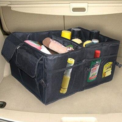 Car glove bag car sundries bags car box folding storage trunk finishing box