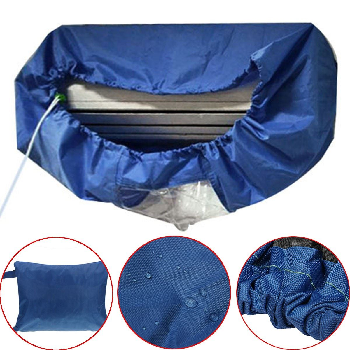 Air Conditioner Waterproof Cleaning Cover For Diy Washing
