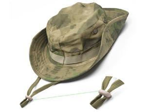 Outdoor Fishing Hunting Army Marine Bucket Jungle Cotton Military Boonie Hat  Cap Tactical Head Wear Military Hat 10 Colors-in Bucket Hats from Apparel  ... 4dfaf66fa57