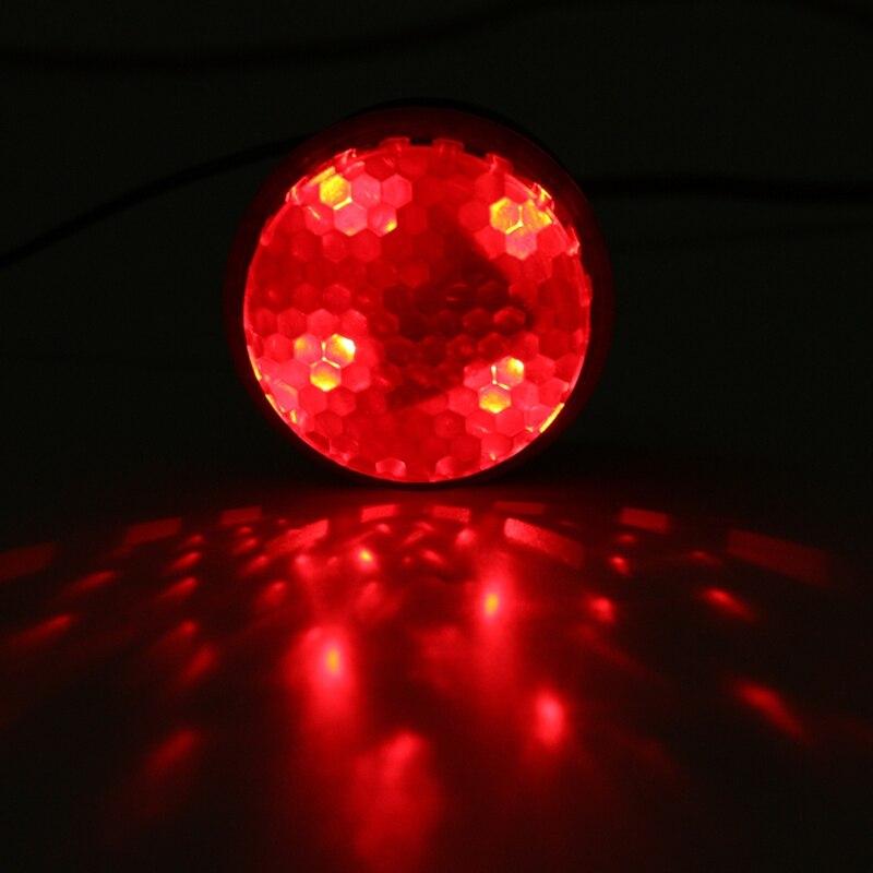 12 В 125db Автомобиль Мотоцикл Тормоза грузовых автомобилей Сирена Стоп Реверс свою очередь сирена красный светодиод аварийной сигнализации г...