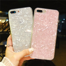 Cyato Cute Glitter Case For iphone 7 Pattern Soft TPU Coque for x Luxury Protective Marble Capa iPhone 8 Plus 6 6S X