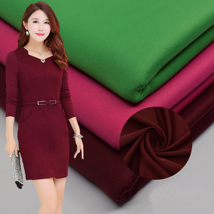Arts,crafts & Sewing Polyester Spandex Matte Satin Fabric Matte Smooth Heavy Thinck Good Drapery For Evening Dress Wedding