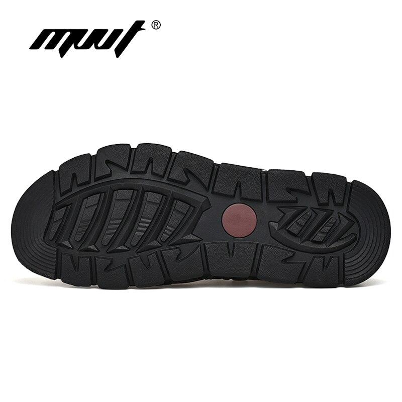 Image 3 - 2019 Fashion Genuine Leather Men Sandals Summer Shoes Lightweight Comfort Men Beach Sandals Leather Men Shoes Plus Size-in Men's Sandals from Shoes
