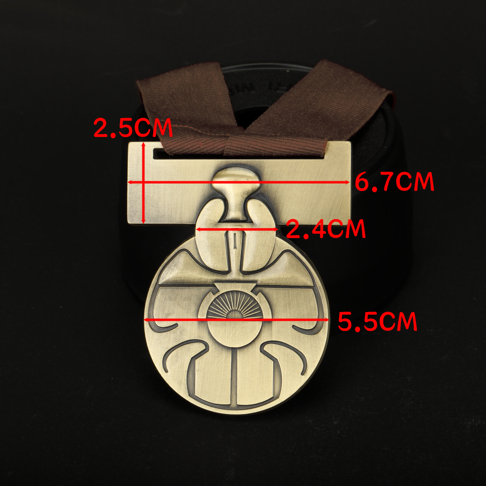 Star Wars Medal of Yavin Luke Skywalker Han Solo Chewbacca Medal Replica Alloy Star Wars Accessories Gift Souvenir (14)